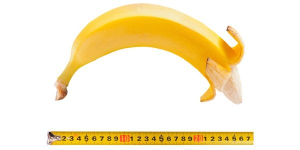 Размер банана