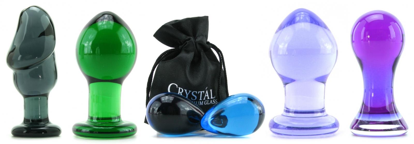 анальные игрушки из стекла