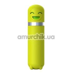 Клиторальный вибратор Odeco Querida, желтый - Фото №1
