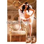 Комплект White-Hot Pink Lace Bikini Set: бюстгальтер + трусики-стринги - Фото №1
