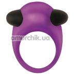 Виброкольцо Mai Attraction Toys №66, фиолетовое - Фото №1