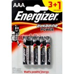 Батарейки Energizer Alkaline Power ААА, 4 шт - Фото №1