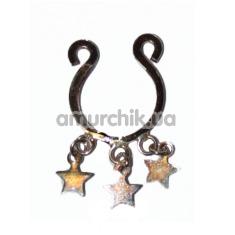Украшение для соска Nipple Charm Star, бронзовое - Фото №1