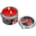 Свеча S/M Kerze Candle 100 мл, красная - Фото №1