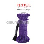 Верёвка Fetish Fantasy Series Deluxe Silky Rope, фиолетовая - Фото №1