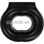 Виброкольцо Bathmate Vibe Rings Stretch, черное - Фото №1