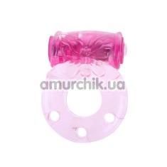 Виброкольцо Vibrator, розовое