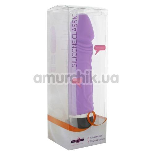 Вибратор Silicone Classic Original, фиолетовый