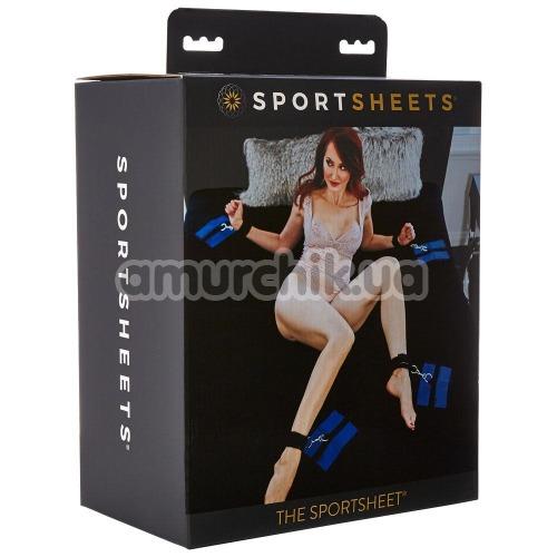 Бондажный набор Sportsheets The Sportsheet Queen, черный