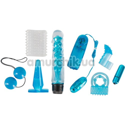 Набор из 8 предметов Blue Appetizer, голубой - Фото №1