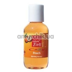 Массажное масло Nature Body Cozy Peach Warming Massage - персик, 50 мл - Фото №1