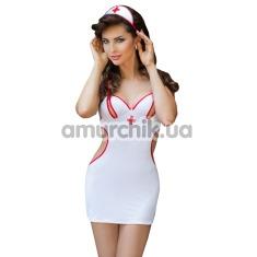Костюм медсестры Medicine: платье + шапочка - Фото №1