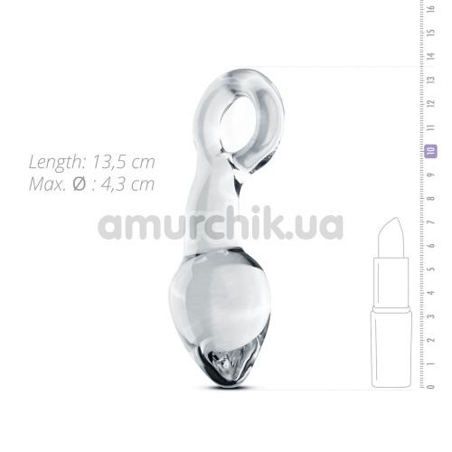 Стимулятор простаты Gildo Handmade Glass Buttplug No.13, прозрачный