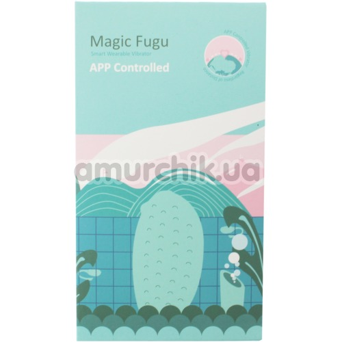Виброяйцо Magic Motion Magic Fugu, бирюзовое