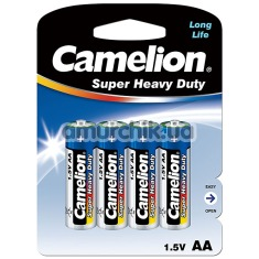 Батарейки Camelion Super Heavy Duty AA, 4 шт