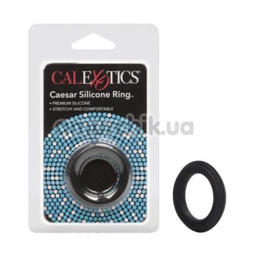 Эрекционное кольцо Adonis Silicone Ring Caesar, черное