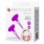 Стимуляторы для сосков с вибрацией Pretty Love Bancroft, фиолетовые - Фото №6
