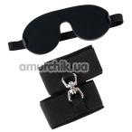 Бондажный набор Bad Kitty Naughty Toys Bondage Kit, черный - Фото №1