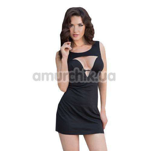Платье Dina, черное - Фото №1