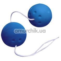 Вагинальные шарики Sarah's Secret синие - Фото №1