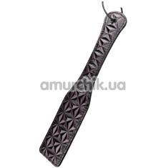 Шлепалка Blaze Luxury Fetish Paddle, фиолетовая - Фото №1
