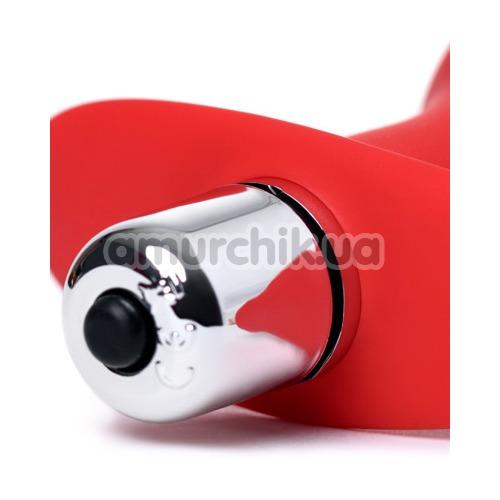 Анальная пробка с вибрацией ToDo Anal Vibro Plug Glam, красная