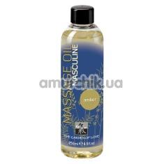 Массажное масло для мужчин Shiatsu Masculine Amber - янтарь, 250 мл