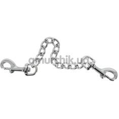 Цепочка с карабинами Zado Metal Chain, серебряная  - Фото №1