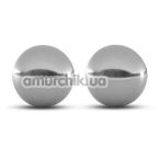 Вагинальные шарики B Yours Gleam, серебряные - Фото №1