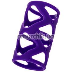 Насадка на пенис A-Toys Penis Extender 768004, фиолетовая - Фото №1