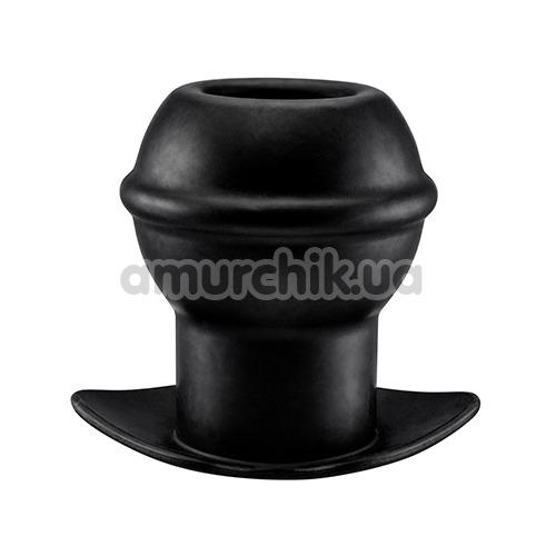 Анальная пробка Menz Stuff Open Wide Tunnel Plug, черная - Фото №1
