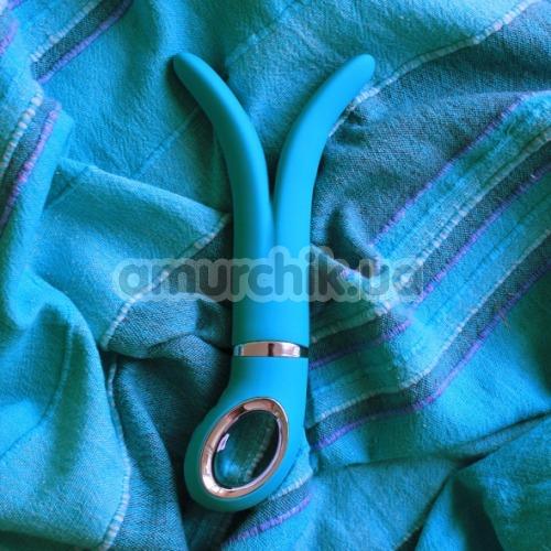 Универсальный вибромассажер G-Vibe 2, голубой