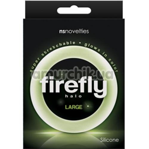 Эрекционное кольцо Firefly Halo Large светящееся в темноте