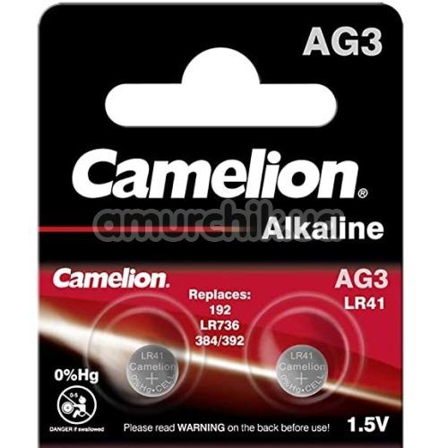 Батарейки Camelion Alkaline LR41 (AG3), 2 шт