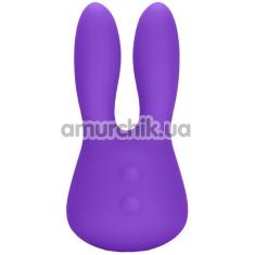 Клиторальный вибратор Silicone Marvelous Bunny, фиолетовый - Фото №1