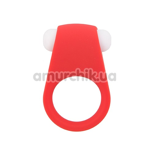 Виброкольцо Lit-Up Silicone Stimu-Ring 4, красное