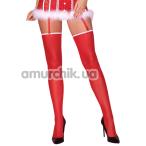 Чулки Livia Corsetti Fashion Milika, красные - Фото №1