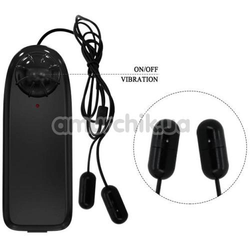 Мастурбатор для головки члена с вибрацией Vibrating Crystal Cap III, черный