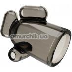 Мастурбатор для головки члена с вибрацией Vibrating Crystal Cap I, черный - Фото №1