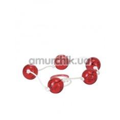 Купить Анальные шарики Clear Anal Beads розовые