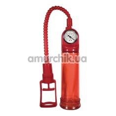 Вакуумная помпа Pump Master Mighty Red, красная - Фото №1