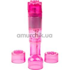 Клиторальный вибратор Brazzers VV020, розовый - Фото №1