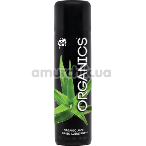 Лубрикант Wet Organics Aloe Based Lubricant, 89 мл