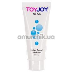 Лубрикант Toy Joy For Fun Water Based Lubricant, 100 мл - Фото №1