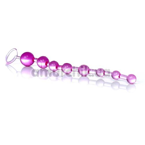 Анальная цепочка Sex Toy Jelly Anal Beads, розовая
