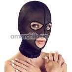 Маска Bad Kitty Naughty Toys Head Mask, черная - Фото №1