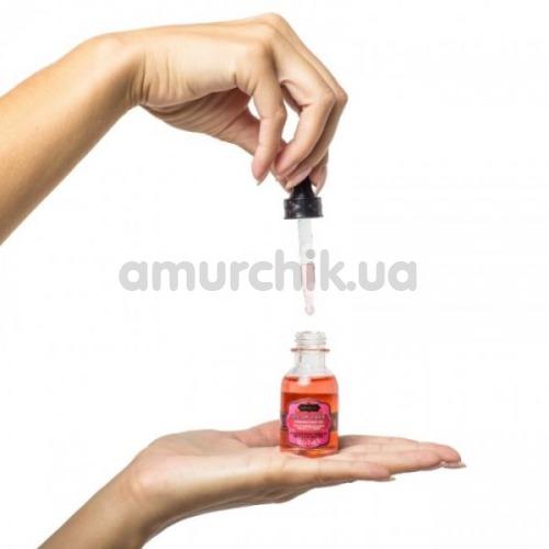 Масло для орального секса с согревающим эффектом Kama Sutra Oil Of Love Vanilla Cream - ваниль, 22 мл