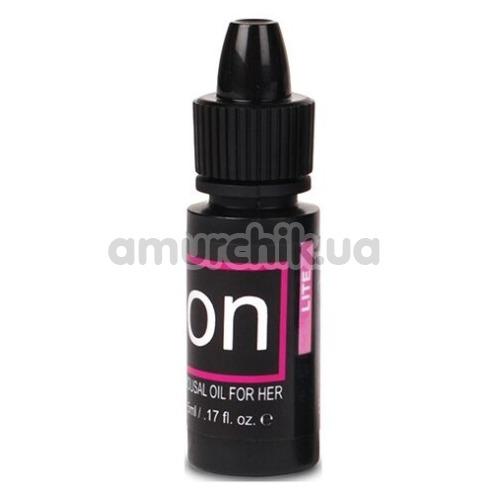 Возбуждающее масло Sensuva On Natural Arousal Oil For Her Lite, 5 мл