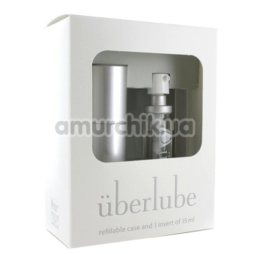 Лубрикант Uberlube 3-in-1 Good-to-Go Silver на силиконовой основе, 15 мл