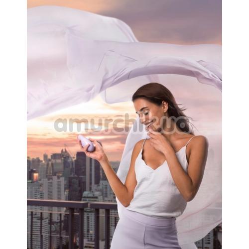 Симулятор орального секса для женщин Womanizer Liberty, светло-фиолетовый